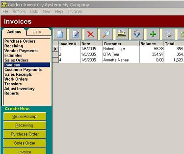 Click to view Golden Inventory System 4.1 screenshot