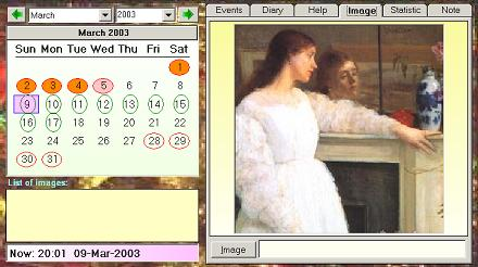 Victoria Woman Calendar screenshot